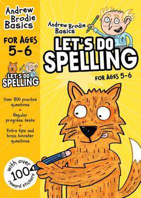 Cover of Let's do Spelling 5-6 - Andrew Brodie - 9781472908582