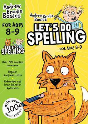 Cover of Let's do Spelling 8-9 - Andrew Brodie - 9781472908612