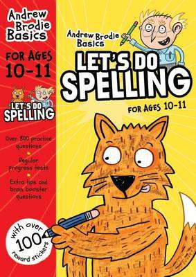 Cover of Let's do Spelling 10-11 - Andrew Brodie - 9781472908636