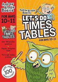 Cover of Let's do Times Tables 10-11 - Andrew Brodie Basics - 9781472916679