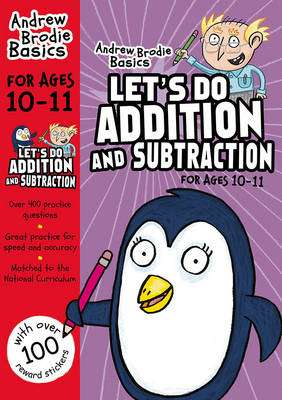 Cover of Let's Do Addition and Subtraction 10-11 - Andrew Brodie - 9781472926289