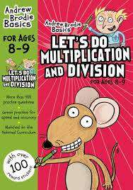 Cover of Let's Do Multiplication and Division 8-9 - Andrew Brodie - 9781472926340