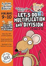 Cover of Let's Do Multiplication And Division 9-10 - Andrew Brodie - 9781472926364