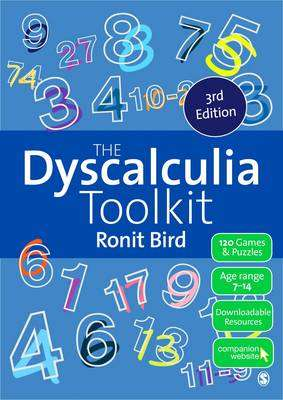 Cover of The Dyscalculia Toolkit: Supporting Learning Difficulties in Maths - Ronit Bird - 9781473974265
