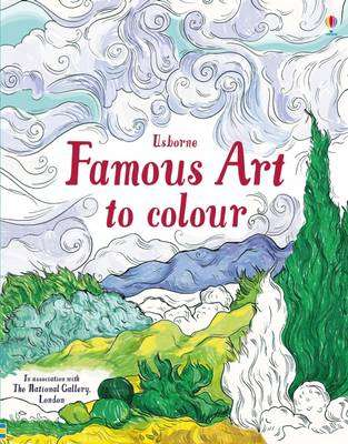 Cover of Famous Art to Colour - Susan Meredith - 9781474922616