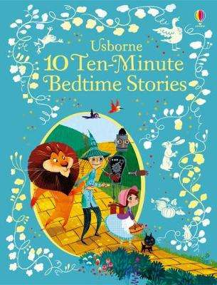 Cover of 10 Ten-Minute Bedtime Stories - Various - 9781474938044