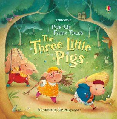Cover of Pop-Up Three Little Pigs - Susanna Davidson - 9781474939577