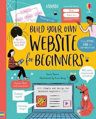 Cover of Build Your Own Website for Beginners - Laura Cowan - 9781474950718