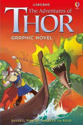 Cover of The Adventures of Thor Graphic Novel - Russell Punter - 9781474952200