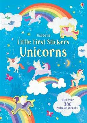 Cover of Little First Stickers Unicorns - Hannah Watson - 9781474952231