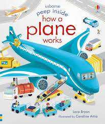 Cover of Peep Inside How a Plane Works - Lara Bryan - 9781474953023