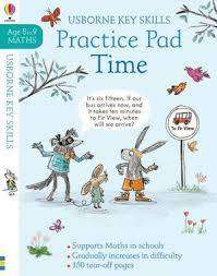 Cover of Time Practice Book 8-9 - Holly Bathie - 9781474953214