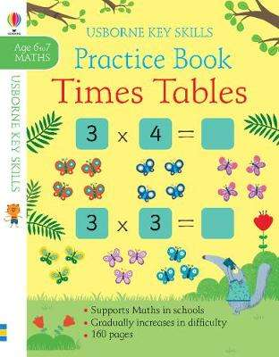 Cover of Times Tables Practice Book 6-7 - Sam Smith - 9781474953344