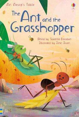 Cover of The Ant and the Grasshopper - Susanna Davidson - 9781474956567