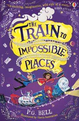 Cover of The Train to Impossible Places - P. G. Bell - 9781474957410