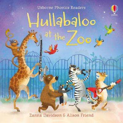 Cover of Hullabaloo at the Zoo - Zanna Davidson - 9781474958721