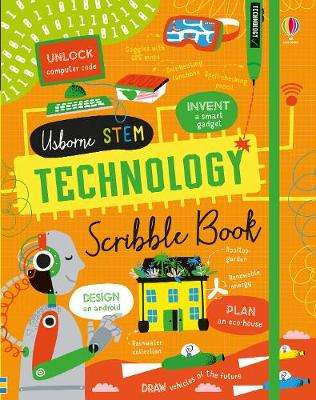 Cover of Technology Scribble Book - Alice James - 9781474959957