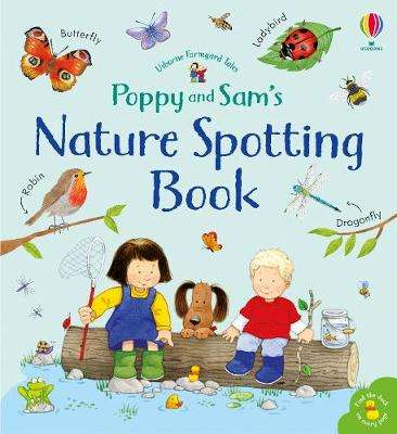 Cover of Poppy and Sam's Nature Spotting Book - Sam Taplin - 9781474962544