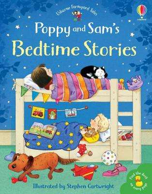 Cover of Poppy and Sam's Bedtime Stories - Heather Amery - 9781474962605