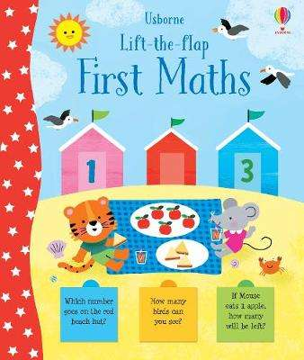 Cover of Lift-the-Flap First Maths - Jessica Greenwell - 9781474968362