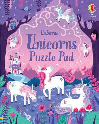 Cover of Unicorns Puzzle Pad - Kate Nolan - 9781474969314