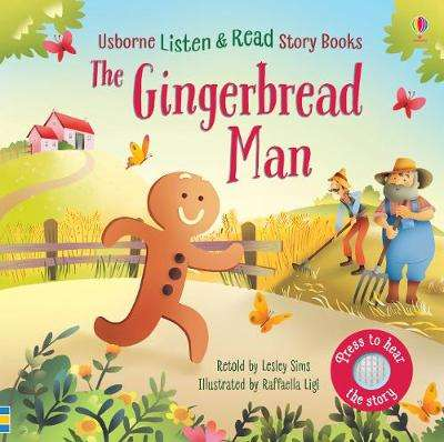 Cover of The Gingerbread Man - Lesley Sims - 9781474969598