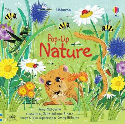 Cover of Pop-Up Nature - Anna Milbourne - 9781474972086