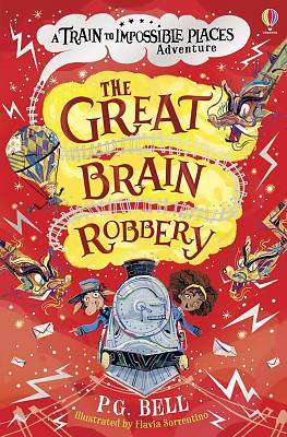 Cover of The Great Brain Robbery - P.G. Bell - 9781474972215