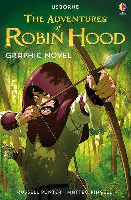 Cover of The Adventures of Robin Hood Graphic Novel - Russell Punter - 9781474974493