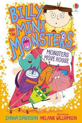 Cover of Monsters Move House - Zanna Davidson - 9781474978392