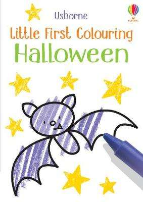 Cover of Little First Colouring Halloween - Kirsteen Robson - 9781474985406