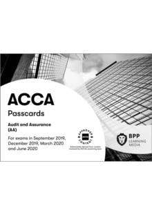 Cover of ACCA Audit and Assurance: Passcards - BPP Learning Media - 9781509723959