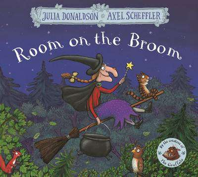 Cover of Room on the Broom - Julia Donaldson - 9781509804771