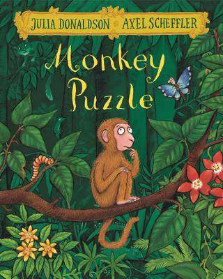 Cover of Monkey Puzzle - Julia Donaldson - 9781509812493