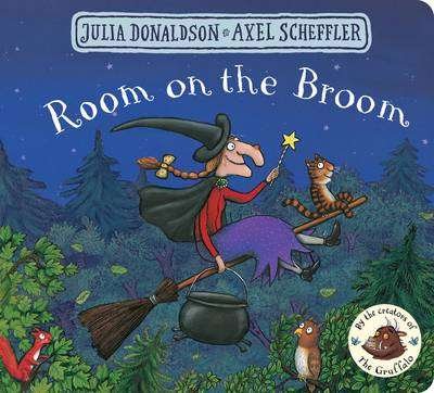 Cover of Room on the Broom - Julia Donaldson - 9781509830435