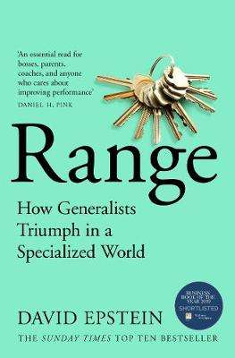 Cover of Range : How Generalists Triumph in a Specialized World - David Epstein - 9781509843527