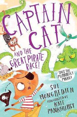 Cover of Captain Cat and the Great Pirate Race - Sue Mongredien - 9781509883929