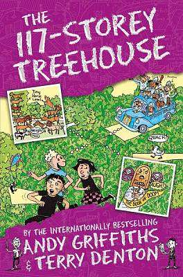 Cover of The 117-Storey Treehouse - Andy Griffiths - 9781509885275