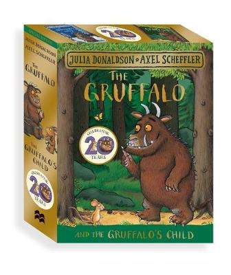 Cover of The Gruffalo and the Gruffalo's Child Board Book Gift Slipcase - Julia Donaldson - 9781509894444