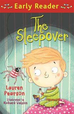 Cover of Early Reader: The Sleepover - Lauren Pearson - 9781510101890