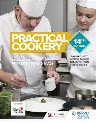 Cover of Practical Cookery 14th Edition - David Foskett - 9781510461710
