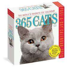Cover of 365 Cats Page-A-Day Calendar 2020 - Workman Publishing - 9781523506965