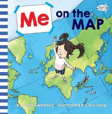 Cover of Me on the Map - Joan Sweeney - 9781524772017