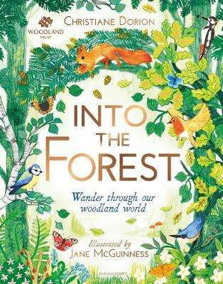Cover of The Woodland Trust: Into The Forest - Christiane Dorion - 9781526600707