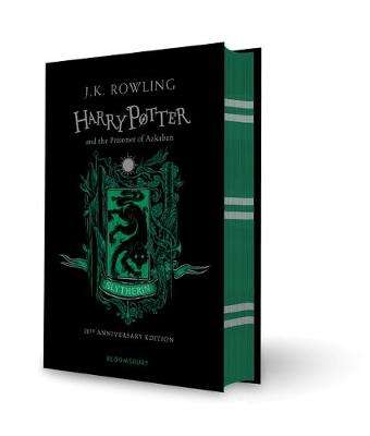 Cover of Harry Potter and the Prisoner of Azkaban - Slytherin Edition - J.K. Rowling - 9781526606228