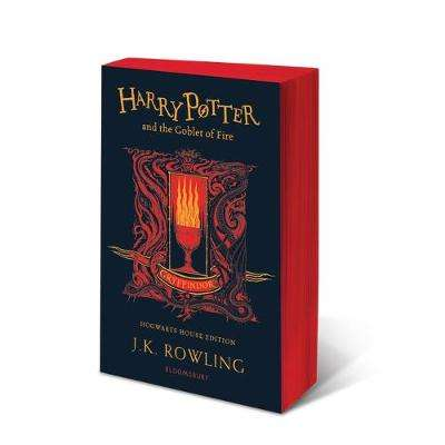 Cover of Harry Potter and the Goblet of Fire - Gryffindor Edition - J.K. Rowling - 9781526610287