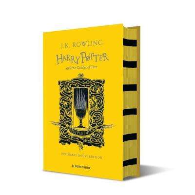 Cover of Harry Potter and the Goblet of Fire - Hufflepuff Edition - J.K. Rowling - 9781526610294