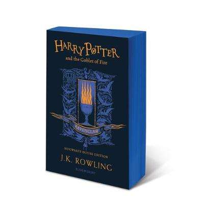 Cover of Harry Potter and the Goblet of Fire - Ravenclaw Edition - J.K. Rowling - 9781526610324