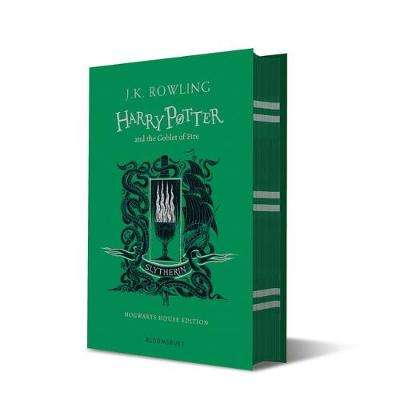Cover of Harry Potter and the Goblet of Fire - Slytherin Edition - J.K. Rowling - 9781526610348