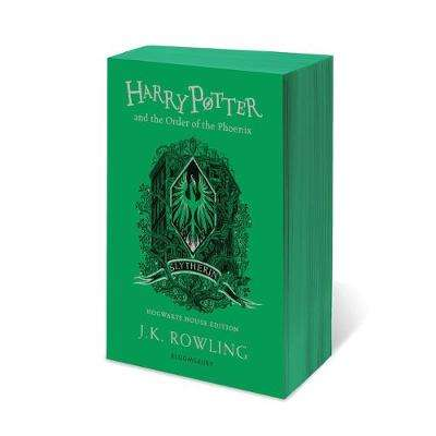 Cover of Harry Potter and the Order of the Phoenix - Slytherin Edition - J.K. Rowling - 9781526618214